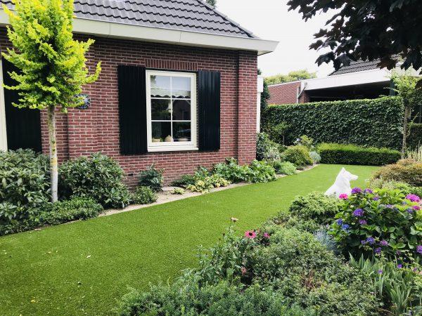 zacht kunstgras tuin 1